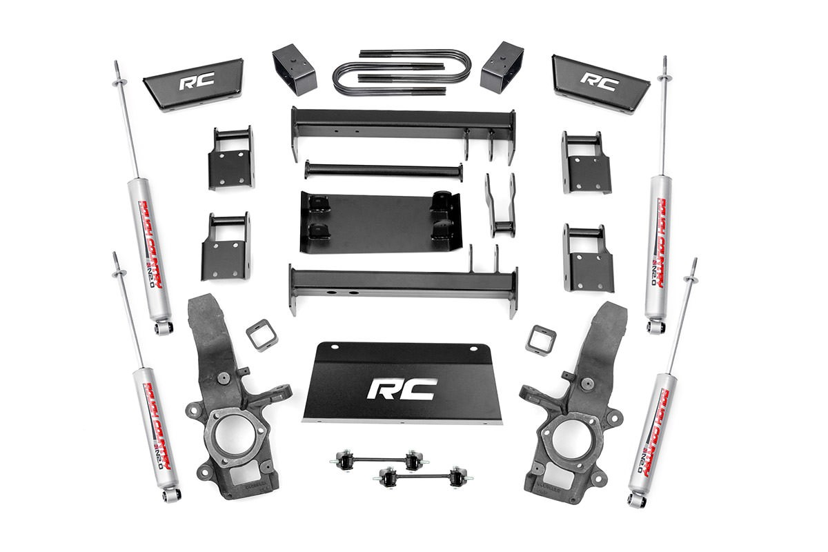 "Rough Country 5"" Ford Suspension Lift Kit"