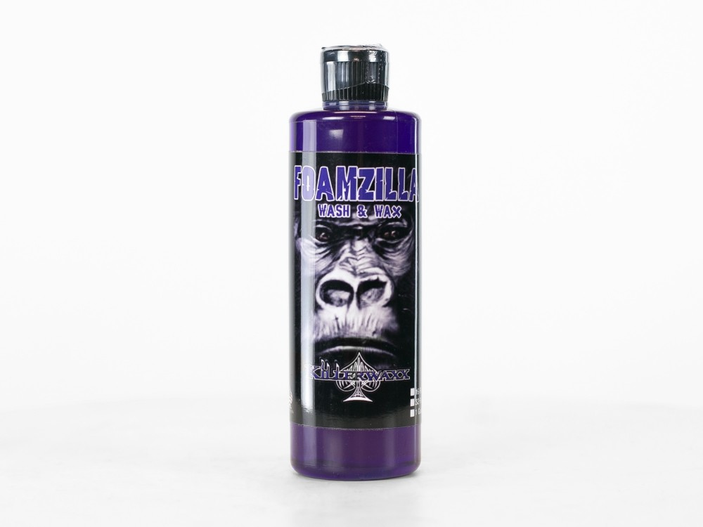 Foamzilla Wash & Wax - 16oz bottle