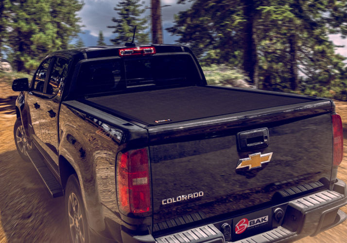 Bak Industries 79427 Revolver X4 2016 2021 Toyota Tacoma Hard Rolling Tonneau Cover 6 Bed W Deck Rail System Custom Offsets