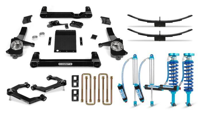Cognito 6 Inch Elite Lift Kit | 19+ Chevrolet & GMC 1500 | King 2.5 Remote Reservoir Shocks