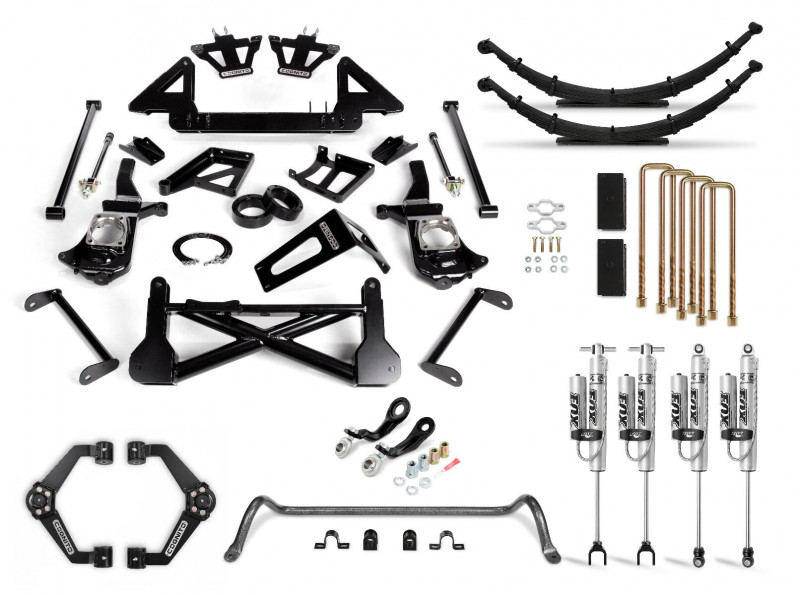 Cognito 10 Inch Performance Lift Kit | 11-19 Chevrolet & GMC 2500/3500 | Fox 2.0 Remote Reservoir Shocks