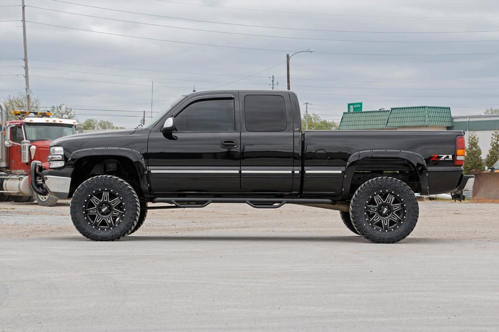 6 Inch Lift Kit For Chevy 1500 4wd >> Rough Country 6 Gm Ntd Suspension Lift Kit 99 06 1500 Pu 4wd