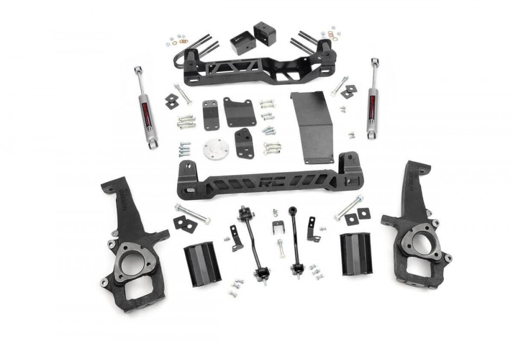 """Rough Country 6"""" Dodge Suspension Lift Kit"""