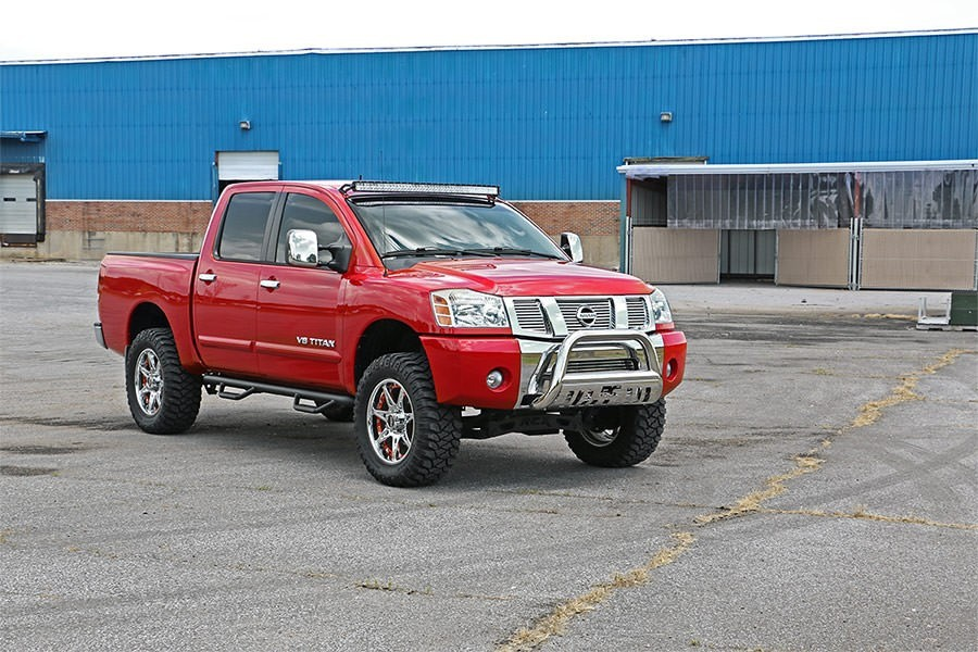 Lifted Nissan Titan >> Rough Country 4 Suspension Lift Kit 04 15 Nissan Titan