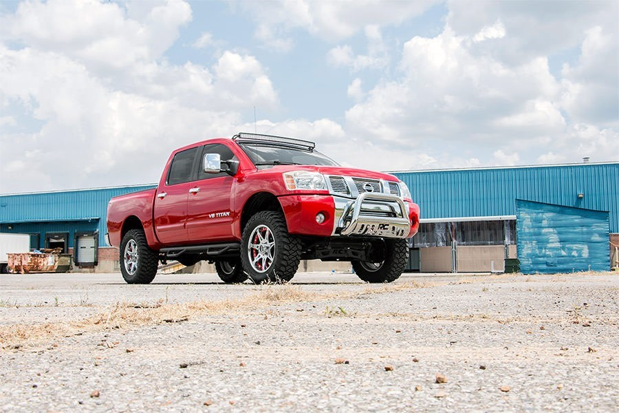 rough country 4in suspension lift kit 04 15 nissan titan. Black Bedroom Furniture Sets. Home Design Ideas