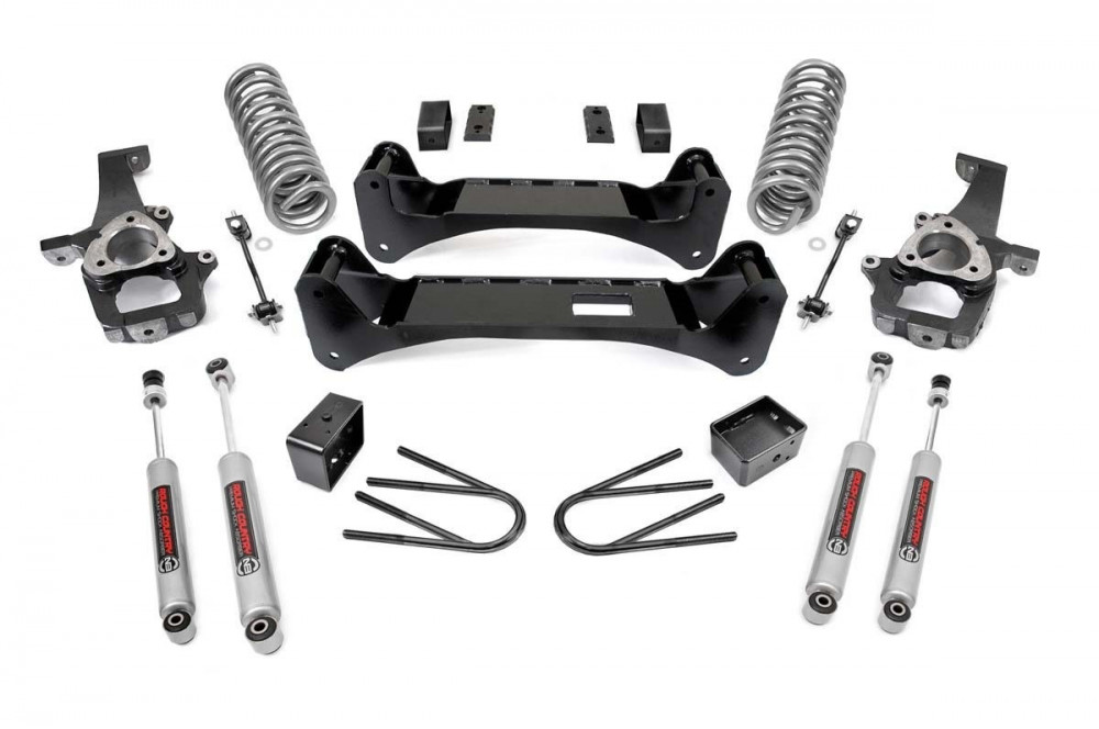 "Rough Country 6"" Dodge Suspension Lift Kit"