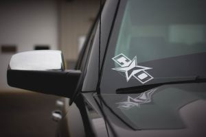 "8"" Vinyl ""CO-Star"" Custom Offsets decal"