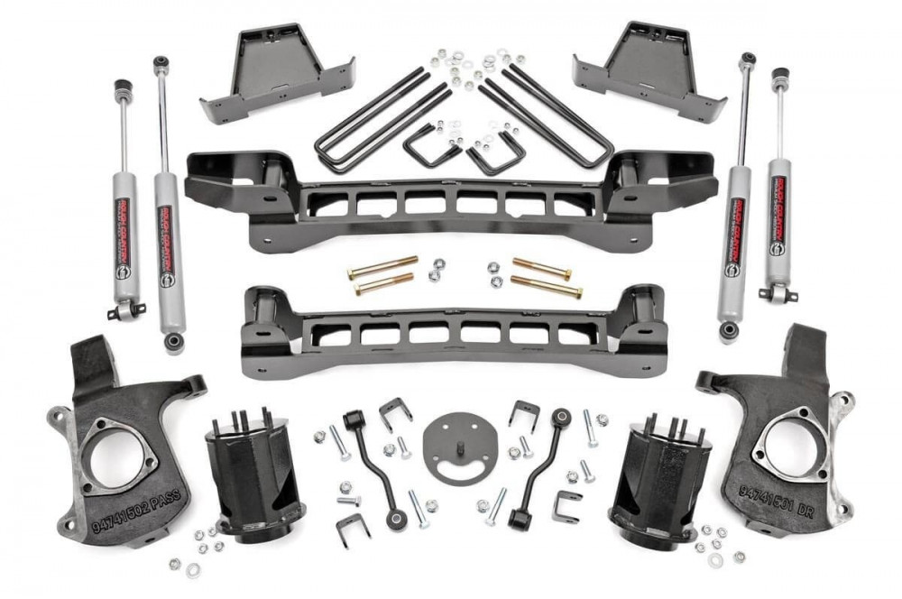 """Rough Country 6"""" GM Suspension Lift Kit 2WD"""