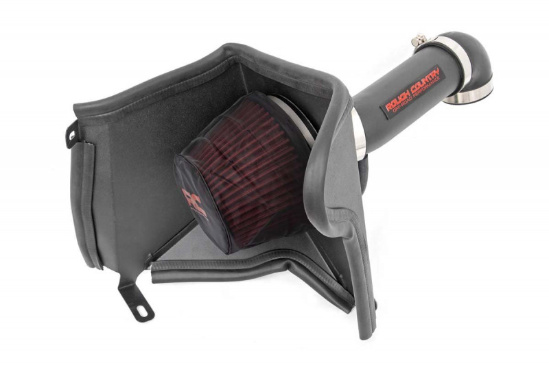 Rough Country Cold Air Intake w/ Pre-Filter Bag (91-01 Jeep XJ | 4.0L)