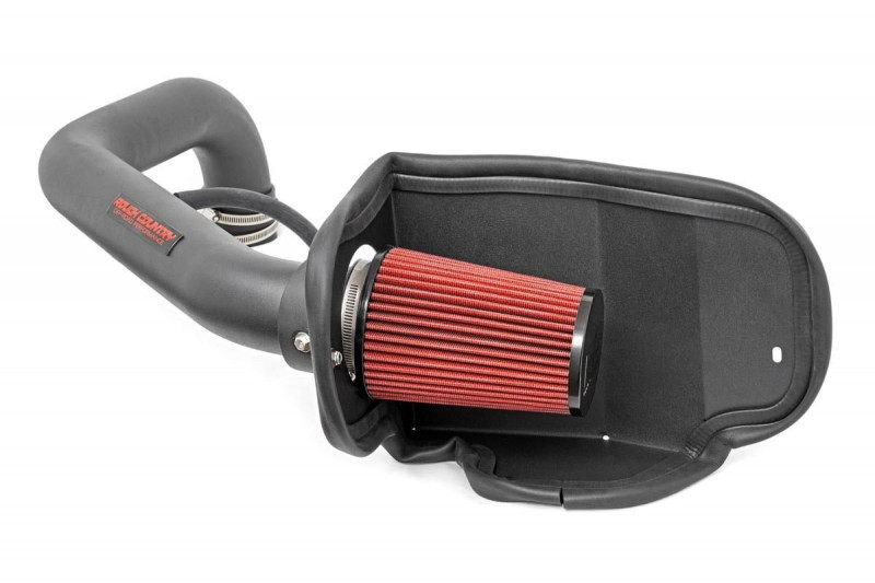 Rough Country Cold Air Intake w/o Pre-Filter Bag(97-06 Jeep TJ   4.0L/6Cyl)
