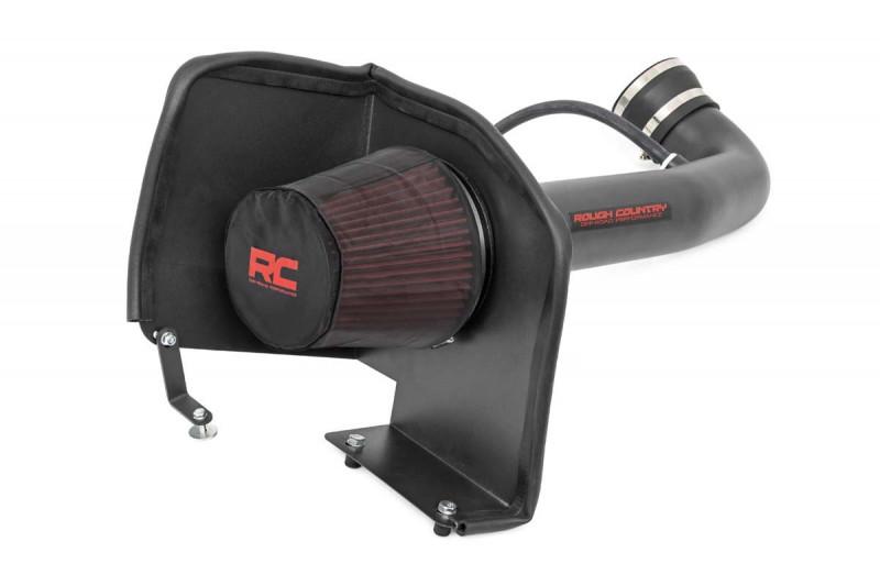 Rough Country GM Cold Air Intake w/ Pre-Filter Bag (09-13 Chevy/GMC/Denali 1500| 4.8L, 5.3L, 6.0L, 6.2L)