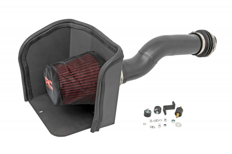 Rough Country Toyota Cold Air Intake w/ Pre-Filter Bag (16-21 Tacoma| 3.5L)