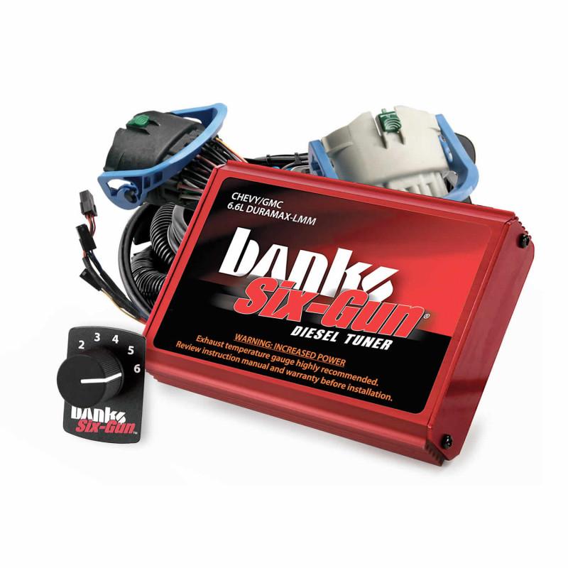 Banks Power Six-Gun Diesel Tuner w/ Switch (07-10 Chevy/GMC 2500/3500 | 6.6L Duramax )