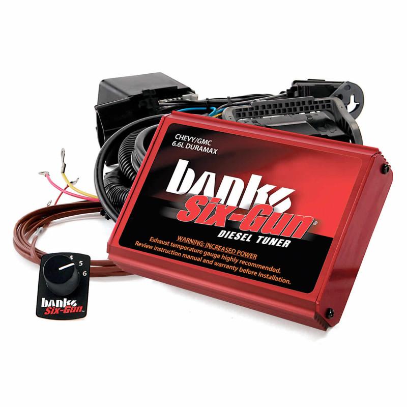 Banks Power Six-Gun Diesel Tuner With Switch (06-07 Chevy/GMC 2500/3500   6.6L LLY-LBZ Duramax)