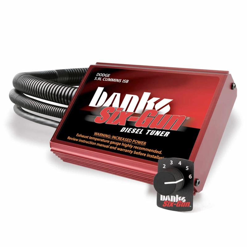 Banks Power Six-Gun Diesel Tuner With Swtich (06-07 Dodge Ram 2500/3500 | 5.9L Cummins)