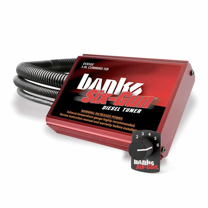 Banks Power Six-Gun Diesel Tuner With Switch (03-05 Dodge Ram 2500/3500 | 5.9L Cummins)