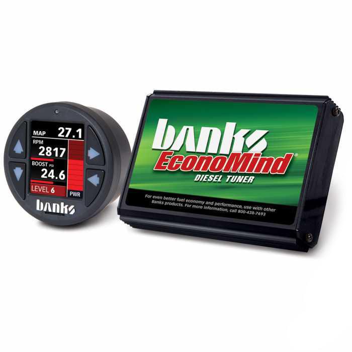 Banks Power EconoMind Diesel Tuner PowerPack Calibration W/ iDash 1.8 SuperGauge (07-10 Chevy/GMC 2500/3500   6.6L Duramax)