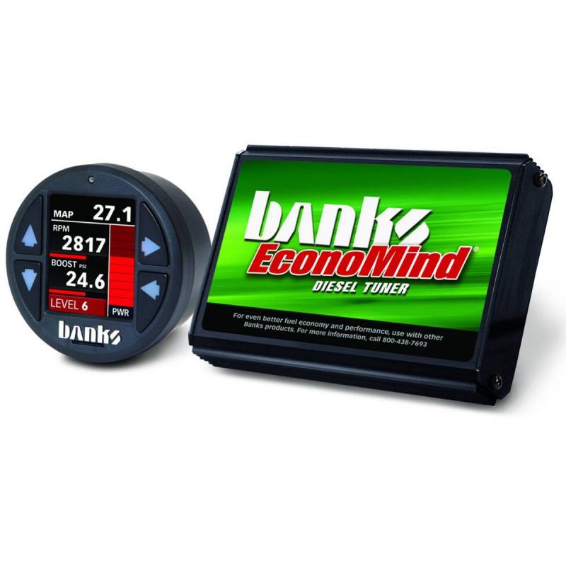 Banks Power EconoMind Diesel Tuner PowerPack Calibration W/ iDash 1.8 SuperGauge (01-04 Chevy/GMC 2500/3500   6.6L Duramax)