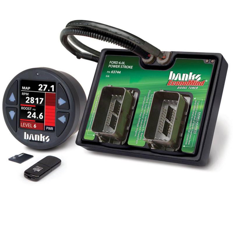 Banks Power EconoMind Diesel Tuner PowerPack Calibration W/ iDash 1.8 DataMonster (03-07 Ford F250/F350 & 03-05   6.0L Power Stroke)