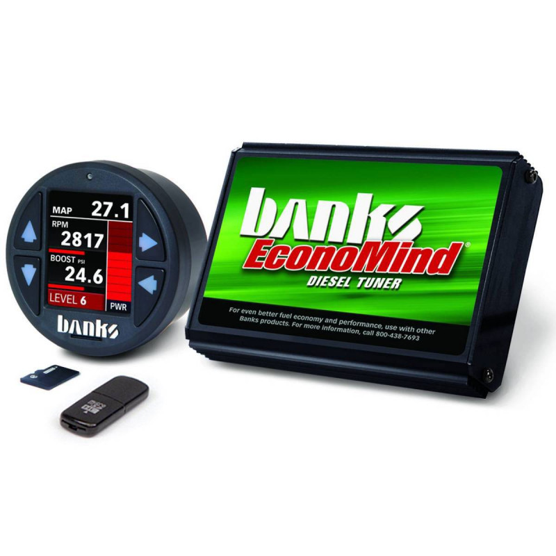 Banks Power EconoMind Diesel Tuner PowerPack Calibration W/ iDash 1.8 DataMonster (01-04 Chevy/GMC 2500/3500 | 6.6L Duramax)