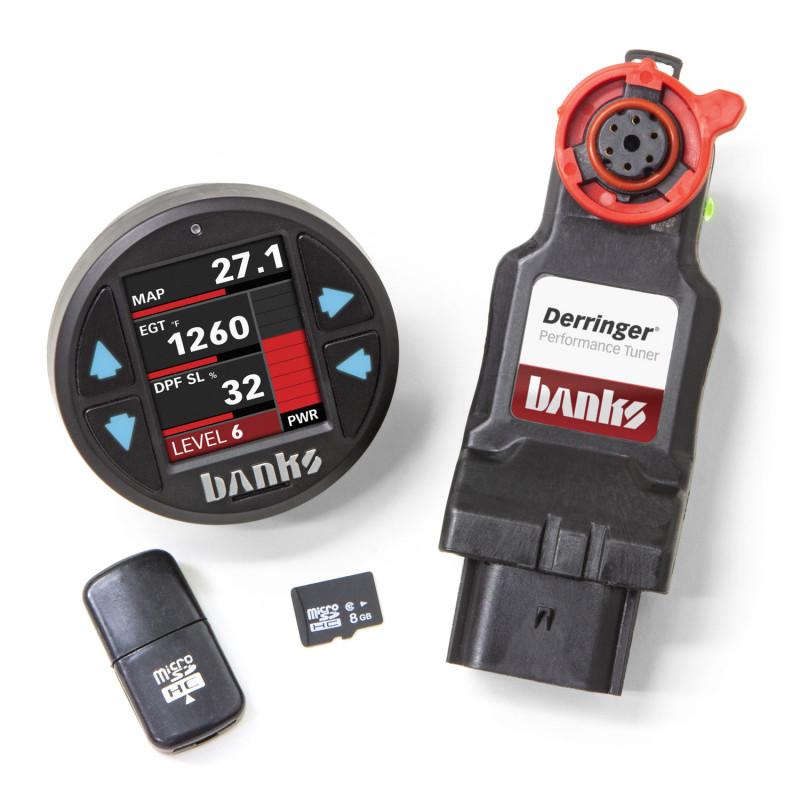 Banks Power Derringer Tuner W/ DataMonster ActiveSafety & iDash 1.8 DataMonster (17-19 Chevy/GMC 2500/3500   6.6L Duramax)