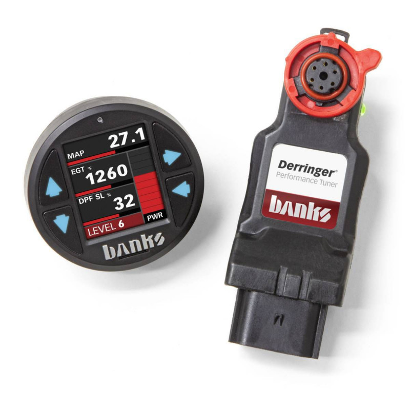 Banks Power Derringer Tuner W/ SuperGauge ActiveSafety & iDash 1.8 (11-19 F250/F350   6.7L Power Stroke)
