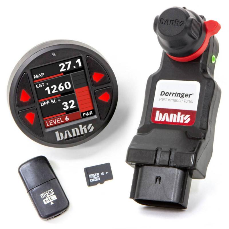 Banks Power Derringer Tuner W/ DataMonster ActiveSafety & iDash 1.8 (20-21 Chevy/GMC 2500/3500 | 6.6L Duramax)