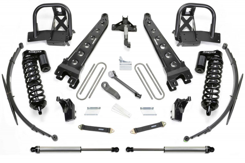 fabtech 8 radius arm system w front dirt logic ss 40