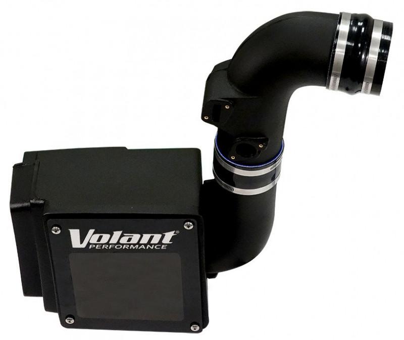 Volant Closed Box Air Intake w/Powercore Filter (13-16 Chevrolet/GMC 2500HD/3500HD   6.6L V8)