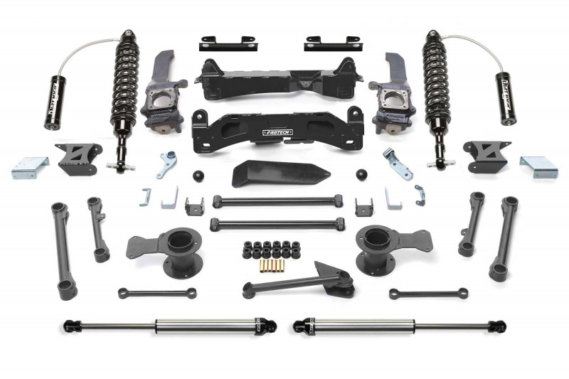 "Fabtech 6"" Performance System w/   Front Dirt Logic SS 2.5 Coilover Resi & Rear Dirt Logic SS Shocks - 2006-09 Toyota FJ 2WD/4WD"