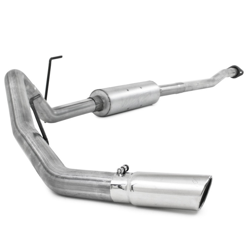 MBRP Single Side Exit Cat-Back Exhaust | 2009 Ford F-150 | Extended/Crew Cab (Aluminized)