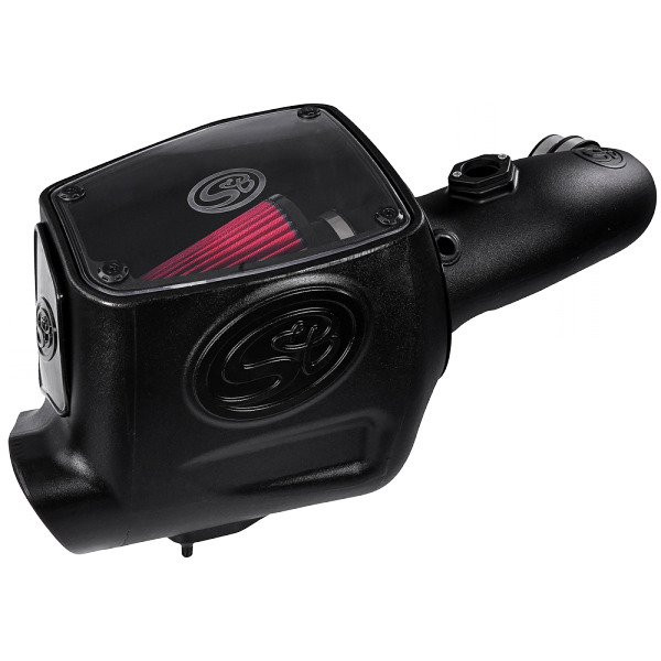 S&B Cold Air Intake W/ Cotton Cleanable Red Filter (08-10 Ford F250/F350   6.4L Powerstroke)