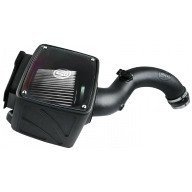 S&B Cold Air Intake W/ Dry Extendabe White Filter (04-05 Chevy/GMC | 6.6L Duramax)
