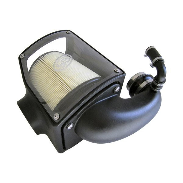 S&B Cold Air Intake W/ Dry Extendabe White Filter (92-00 Chevy/GMC   6.5L Duramax)