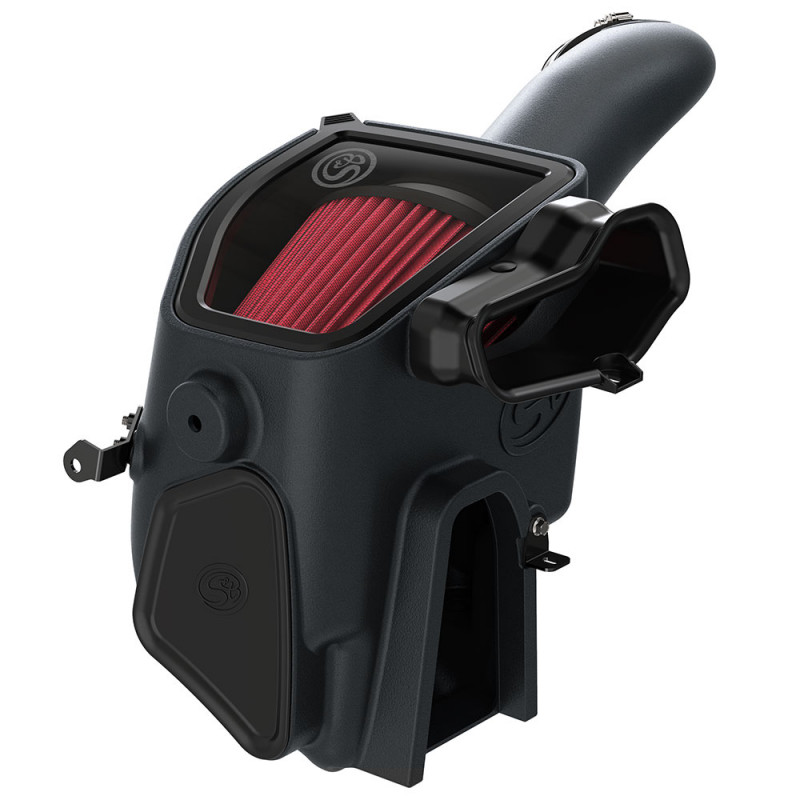 S&B Cold Air Intake W/ Cotton Cleanable Red Filter (20-21 Ford F250/F350   6.7L Powerstroke)