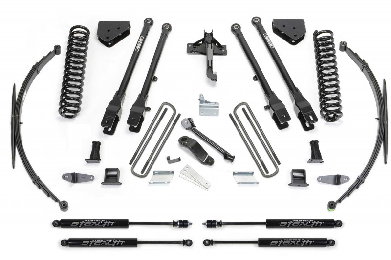 fabtech 8 4 link system w stealth shocks 2008 16 ford f250