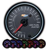 GlowShift Black 7 Color Air / Fuel Ratio Gauge