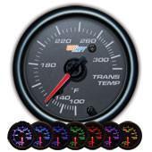 GlowShift Black 7 Color Transmission Temperature Gauge