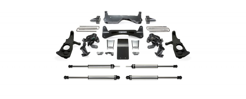 "Fabtech 6"" Rts System w/   Dirt Logic SS Shocks - 2011-2019 GM C/K2500HD 2WD/4WD"