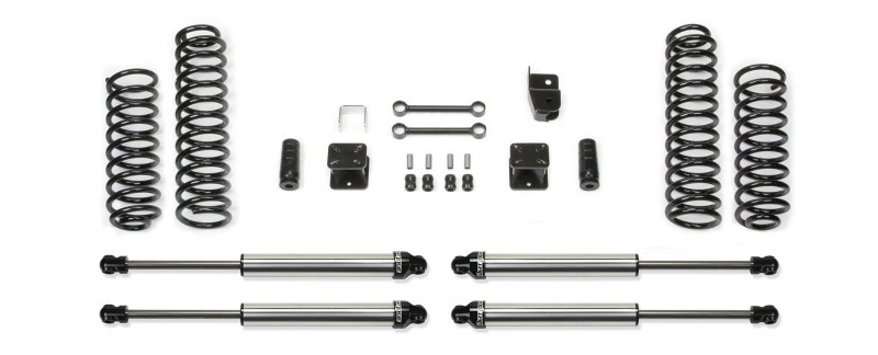 "Fabtech 3"" Sport System w/   Dirt Logic 2.25 Non Resi Shocks - 2007-16 Jeep JK 4-door 4WD"