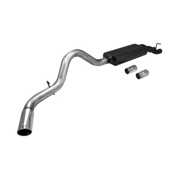 Flowmaster American Thunder Cat-Back Exhaust System 01-06 Chevrolet/GMC 2500 & 3500HD & 07 Chevrolet 1500  6.0L /8.1L W/ Dual Inlet Muffler Stainless Steel