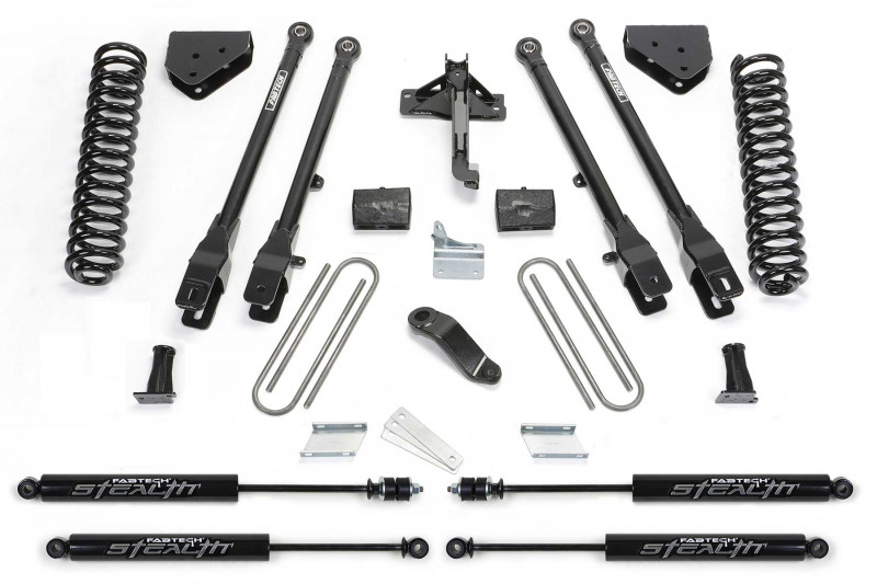 fabtech 6 4 link system w stealth shocks 2008 16 ford f350