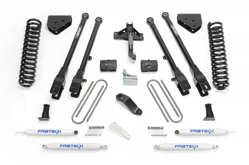 fabtech 6 4 link system w performance shocks 2008 16 ford