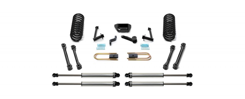 fabtech 6 performance system w dirt logic ss shocks 2009 13 dodge ram 2500 3500 4wd diesel only