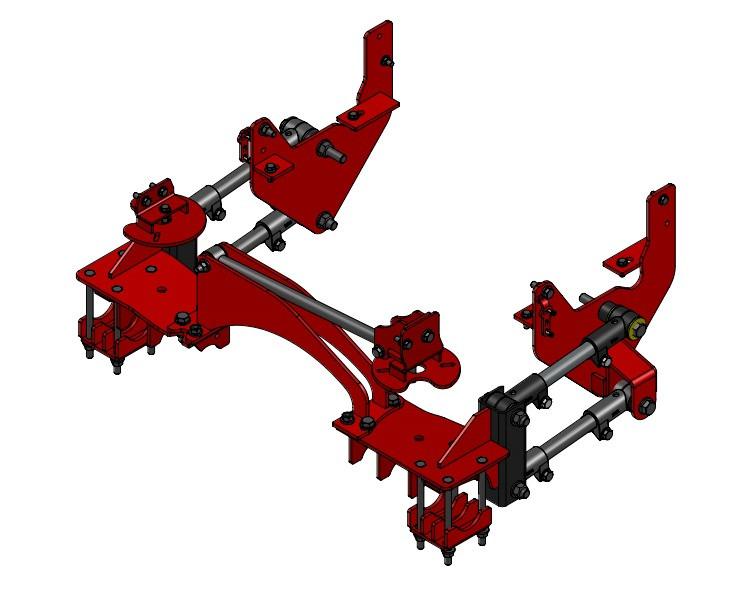 Kelderman Stock Height 4-Link Rear Air Suspension(08-10 Ford F250/350 4WD)