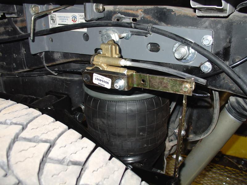 Kelderman Stock Height 4-Link Rear Air Suspension(99-07 Ford F250/350 4WD)