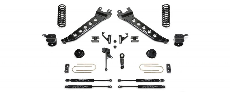 7 radius arm system w coil springs stealth shocks 2013 16 ram 3500 4wd