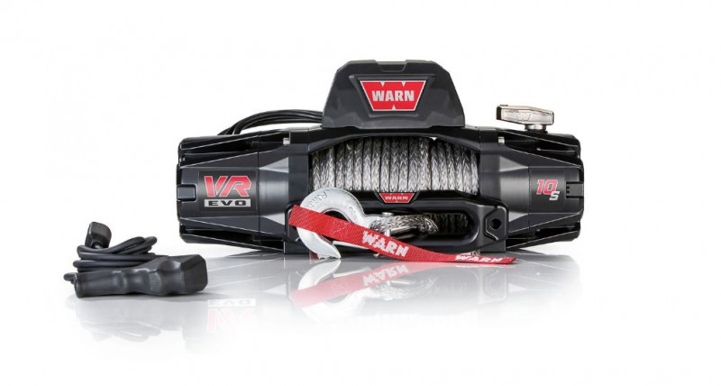 WARN 10000lb VR EVO 10-S 12V DC Electric Winch | 90ft Synthetic Rope