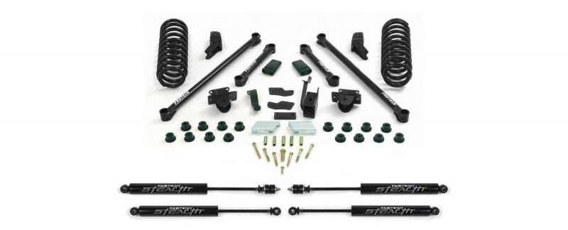 fabtech 55 performance system w stealth shocks 2000 01