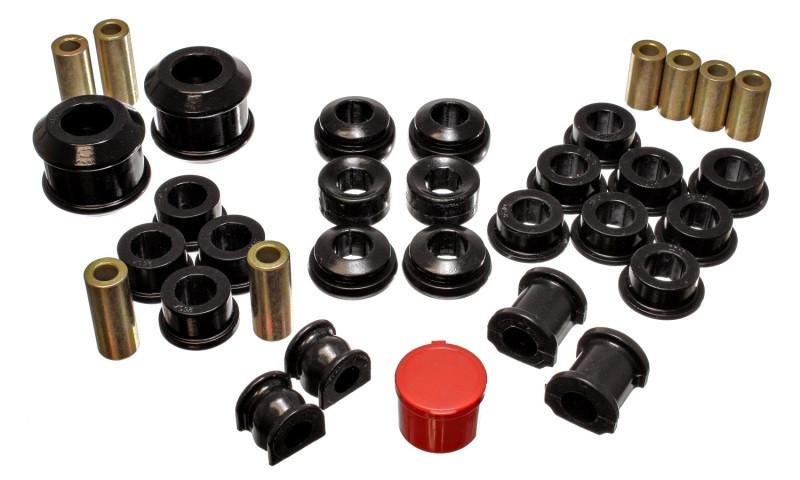 Energy Suspension Complete Suspension Bushing Kit (Black)   02-04 Acura RSX